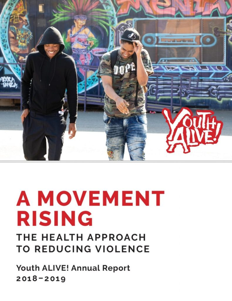 Youth ALIVE!'s Annual Report 2018-2019